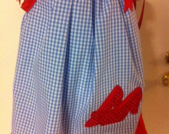Red Shoes Pillowcase Dress