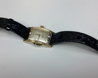 Vintage Gold Filled Bulova Watch