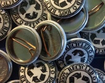 50 Custom Pinback Buttons