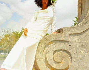The Unity Wedding Ensemble. Organic hemp jersey. Made to order.