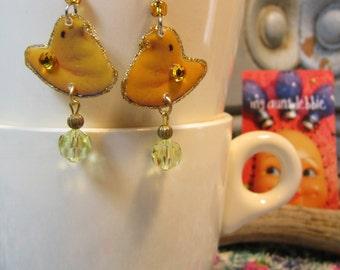 Easter Peep Earrings  Marshmallow Peeps