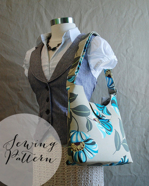 INSTANT DOWNLOAD - Mabel Messenger - PDF Sewing Pattern by Jenna Lou Designs