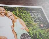 DIY Printables - Modern Vintage Save The Date Postcard