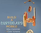 CUSTOM Baby Mobile - Surfboards - Build Your Own