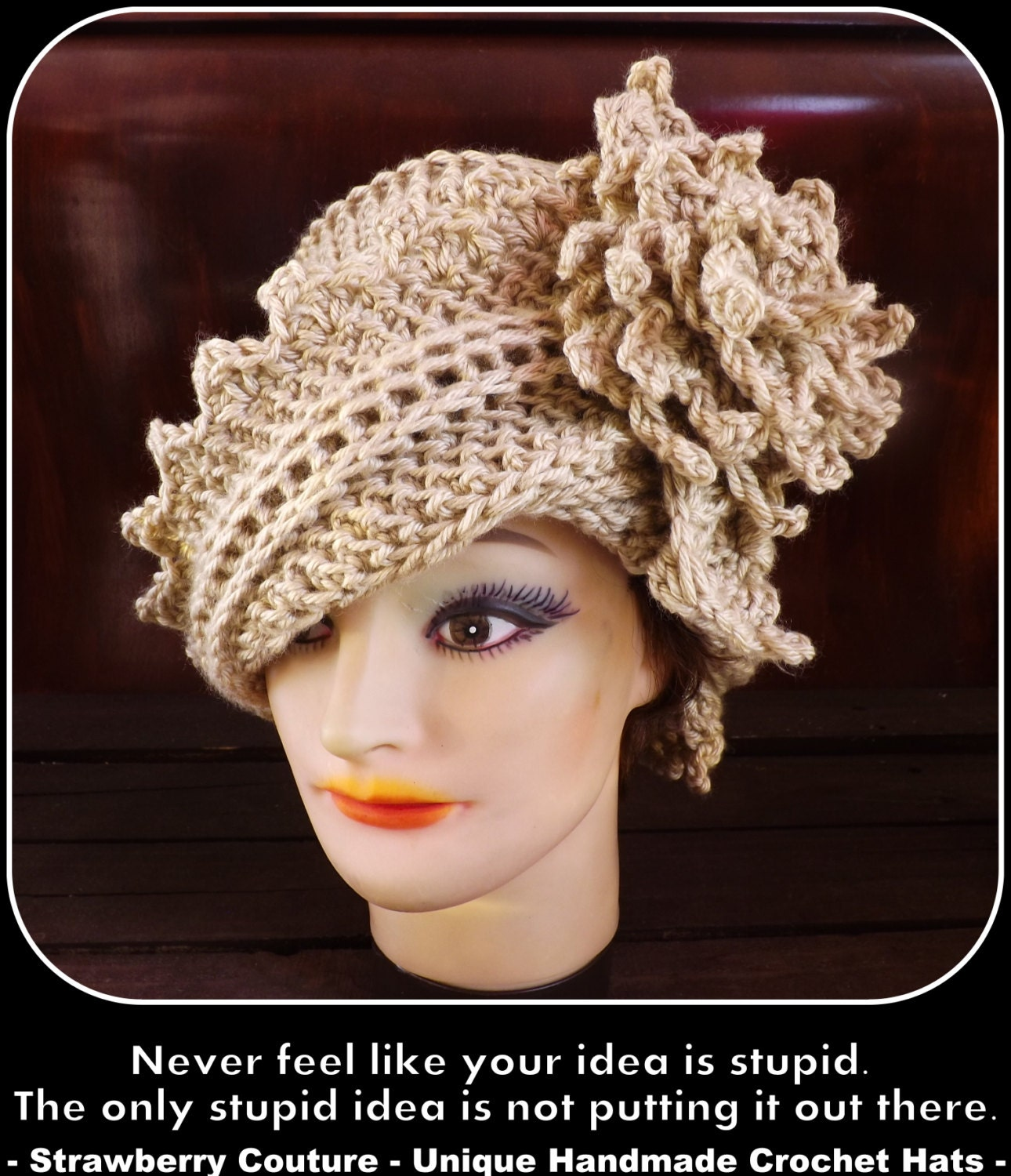Hat crochet pattern hat crochet hat pattern womens hat zoom bankloansurffo Choice Image