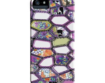 Purple iPhone 6 Case, iPhone 6s case, Abstract, Geometric iPhone cases, iPhone 6s plus case, iPhone 5S case, iPhone 6 case, Galaxy S7 Case