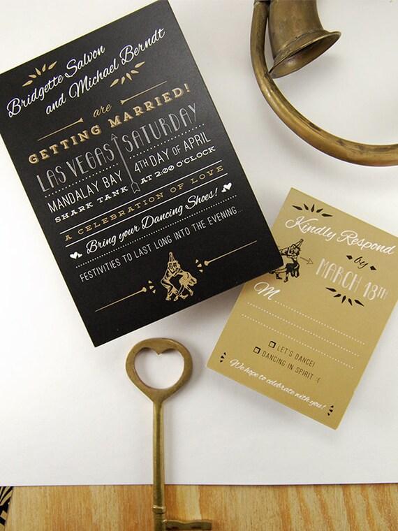 like this item - Gatsby Wedding Invitations