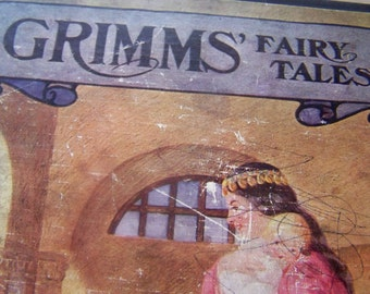 Grimm's Fairy Tales, book cover