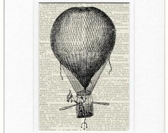 hot air balloon III print