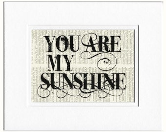 you are my sunshine I sign