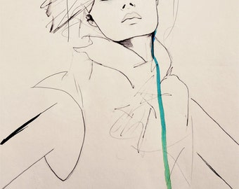 Envie - Fashion Illustration Art Print