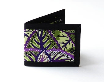 Meadow Cabbage Billfold Wallet - Vegan Friendly