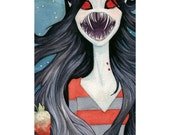 Marceline - Shades of Red - Adventure Time Tribute Show - Print
