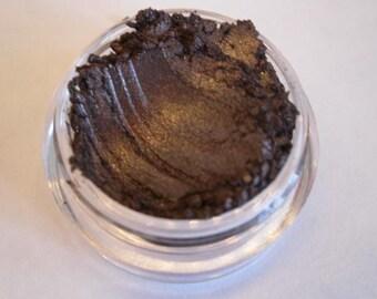 Coffee Bean Eye Shadow, Eyeliner, Vegan, Gluten Free, Chemical Free Mineral Makeup