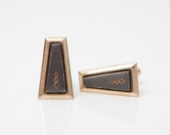 Vintage Trapezoid Cuff Links