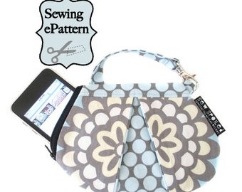 Sew Spoiled Ladybug, Mini Purse Sewing Pattern with two zipper options
