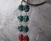 SALE Homage to Fringe Vintage Seed Beaded Earrings