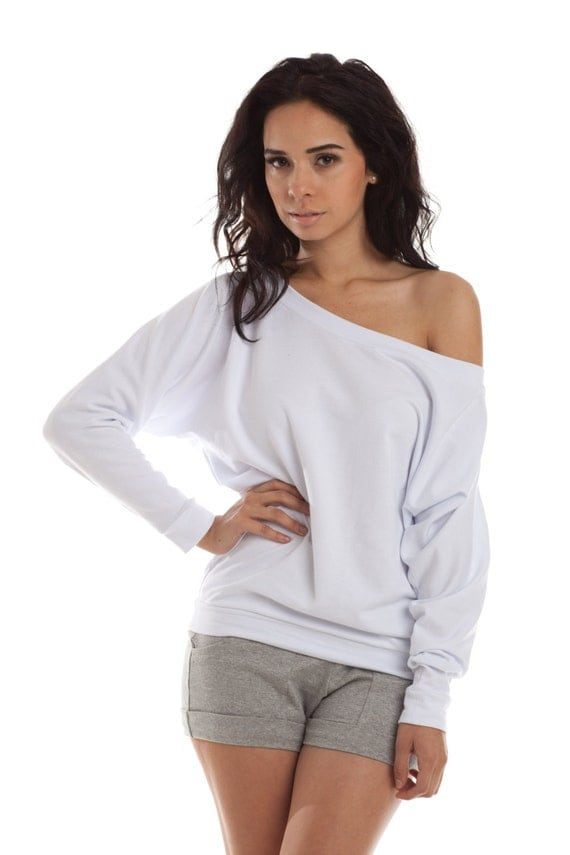 Off The Shoulder Sweater dolman sweaters off shoulder