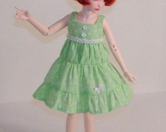 Sun Dress fits Iplehouse KID, MyMeadow Avery BJDs - Similar Size BJDs