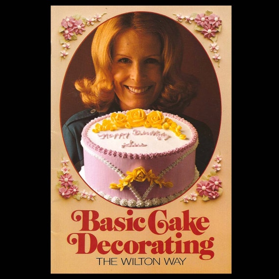 Basic Cake Decorating Kit Wilton : Basic Cake Decorating the Wilton Way Vintage by undoneeclectic