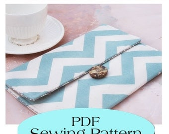 iPad MINI  Sleeve Pattern , iPad MINI Case Pattern, PDF Sewing Pattern Ebook Sewing Tutorial, Email Delivery