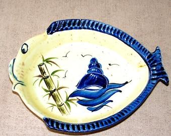 Romancing Provence - Soup Plate - Soup Bowl - Fish Dish - France - French Majolica