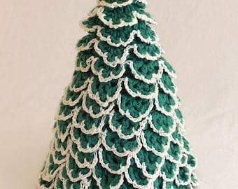 Christmas Tree TP Topper Crochet Pattern PDF
