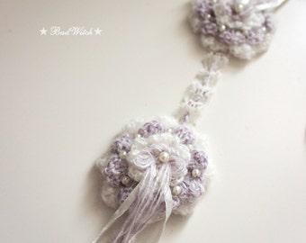 Badwitch's BJD Dollfie Accessory Winter Earmuffs (Purple) - MSD