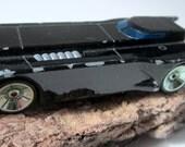 RESERVED for BLAKE            Hot Wheels Batmobile Animated Series Car Diecast DC Comics Black Ertl Rare