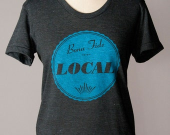 women's t-shirt, local t-shirt, local tee, hometown tee, townee shirt