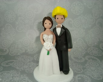 green bay packers wedding cake topper popular items for packers cake topper on etsy 14965