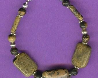 Landscape Stone Gemstone Bracelet