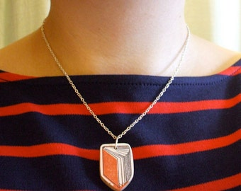 Book Necklace - Available in 8 Colours
