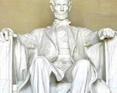 President Lincoln Print, Abraham Lincoln Art, Abe Lincoln Art Print, Art for Men, Lincoln Memorial, Lincoln Photography, Washington DC