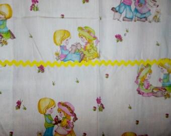 Cute Kids Curtains with Rick Rack Trim