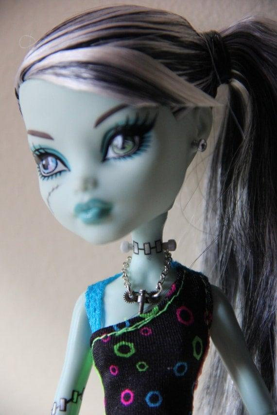 Steampunk Inspired Gothic Doll Jewelry Set for Monster High Dolls