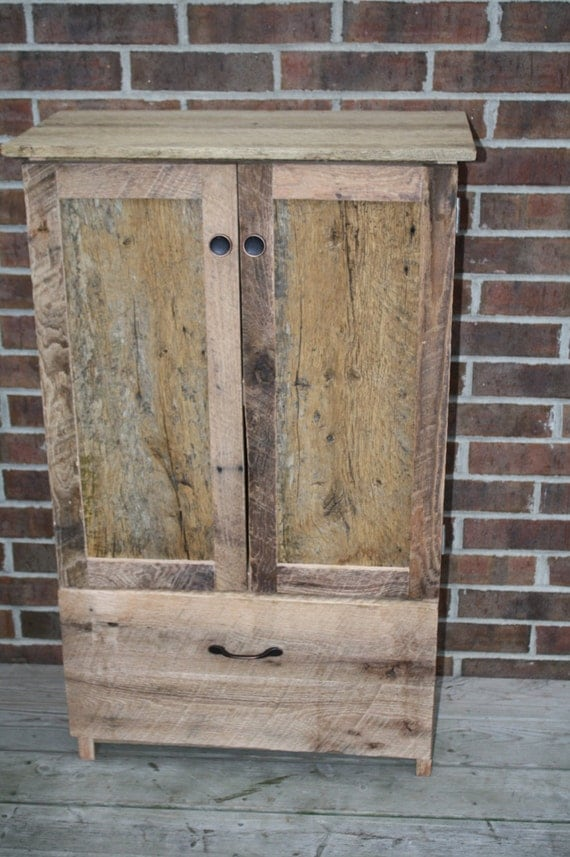 Your Reclaimed And Rustic Barn Wood 40 Tall Pantry