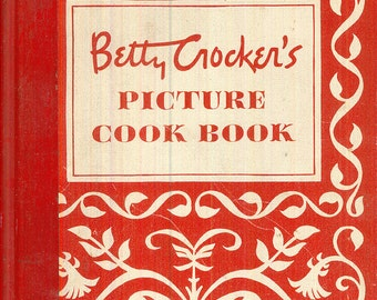 Betty Crocker Picture Cook Book Cookbook Classic Recipes Vintage Kitchen Cooking CrabbyCats Crabby Cats