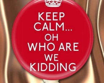 ID Badge Holder Retractable Reel Keep Calm Nurse ID Reel