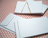 Coin Envelopes - White set of (25) for Journaling, Scrapbooks and Tag books