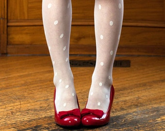 red bow shoe clips made in cotton sateen fabric in many colors