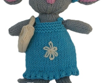 Mina Mouse PDF Knitting Pattern