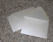 "4-Bar or RSVP (3-5/8"" x 5-1/8"") - Set of 25 Metallic Stardream Quartz/Pearl Envelopes"
