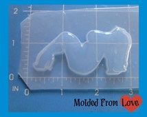 SALE Curvy  Pin Up Flexible Plastic  Resin  Mold