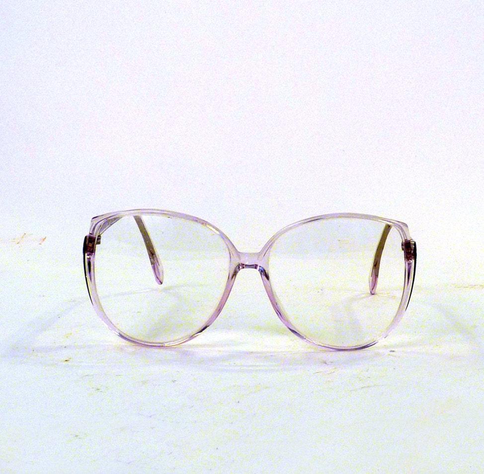 Eyeglass Frames Retro : Vintage Eye wear / Round Eyeglasses / Silhouette by ByHeart