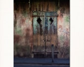 New Orleans Door Art- preservation hall french quarter photograph louisiana photography 8x10 fine art print under 50 - Briole