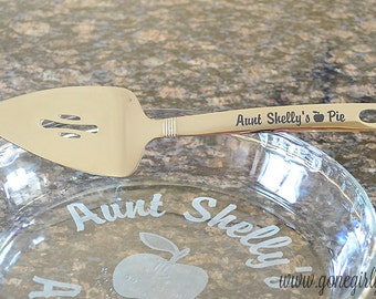 Personalized Stainless Steel Pie Pastry Server