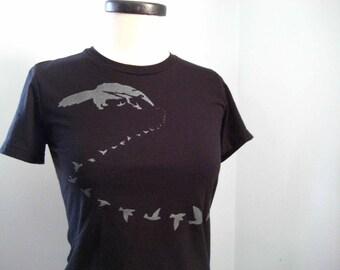 Anteater Eats Birds T Shirt Women's