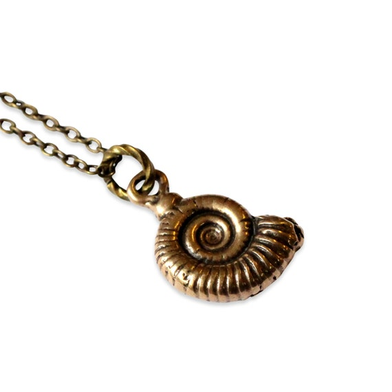Ammonite Fossil Necklace 133
