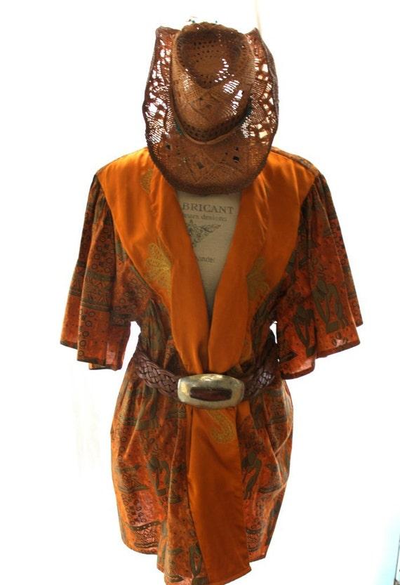 vintage safari jacket boho chic vintage by truerebelclothing